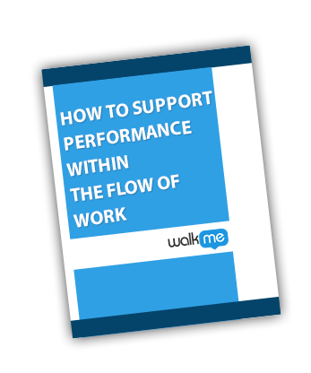 How to Support Performance Within the Flow of Work